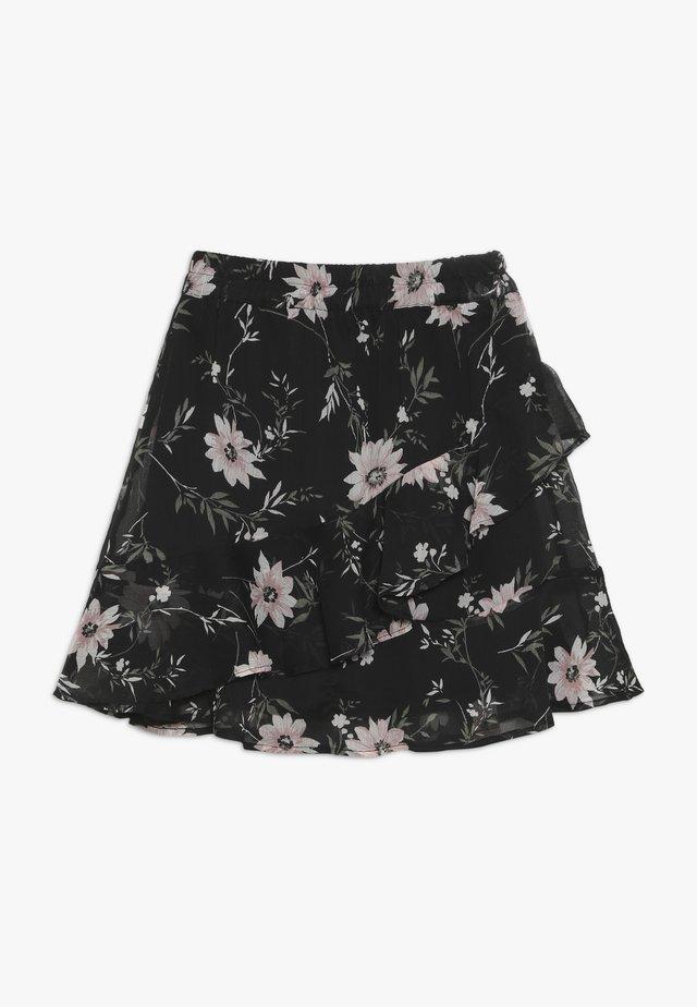 BRIT - A-snit nederdel/ A-formede nederdele - black