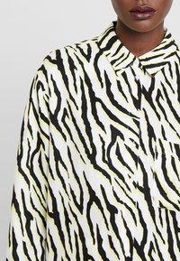 someday. - ZITA ANIMAL - Button-down blouse - black - 4