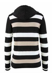 Alba Moda - Zip-up sweatshirt - schwarz,off-white,taupe - 6