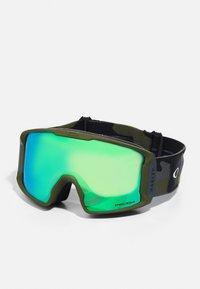 Oakley - LINE MINER - Ski goggles - green - 2