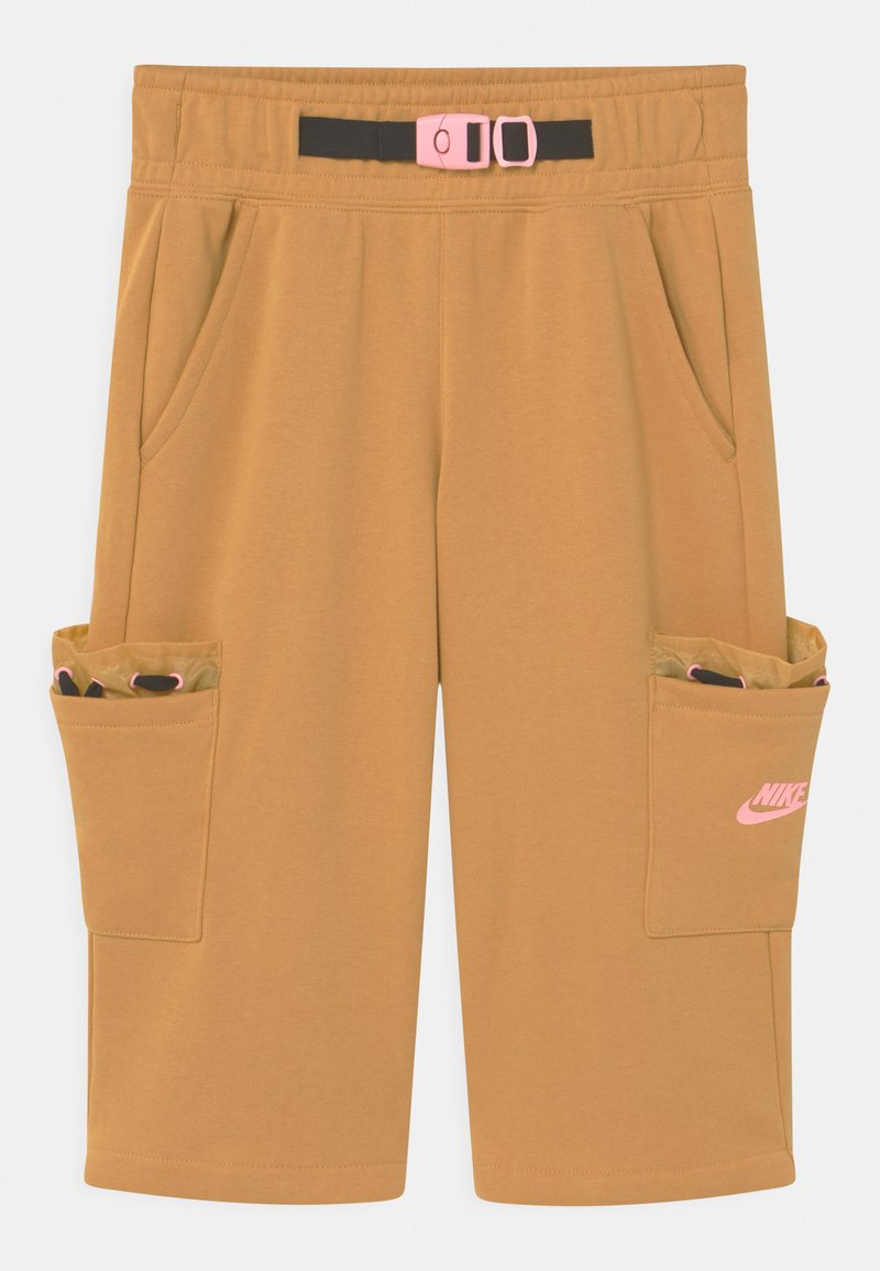 Nike Sportswear - Shorts - bucktan/black/arctic punch