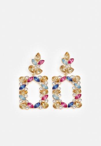 PCZAPHIRA EARRINGS - Earrings - gold-coloured/multi