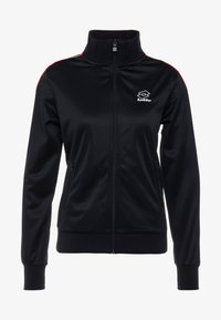 Lotto - ATHLETICA - Zip-up hoodie - all black - 6