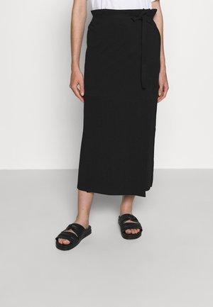 SKIRT - Wrap skirt - black