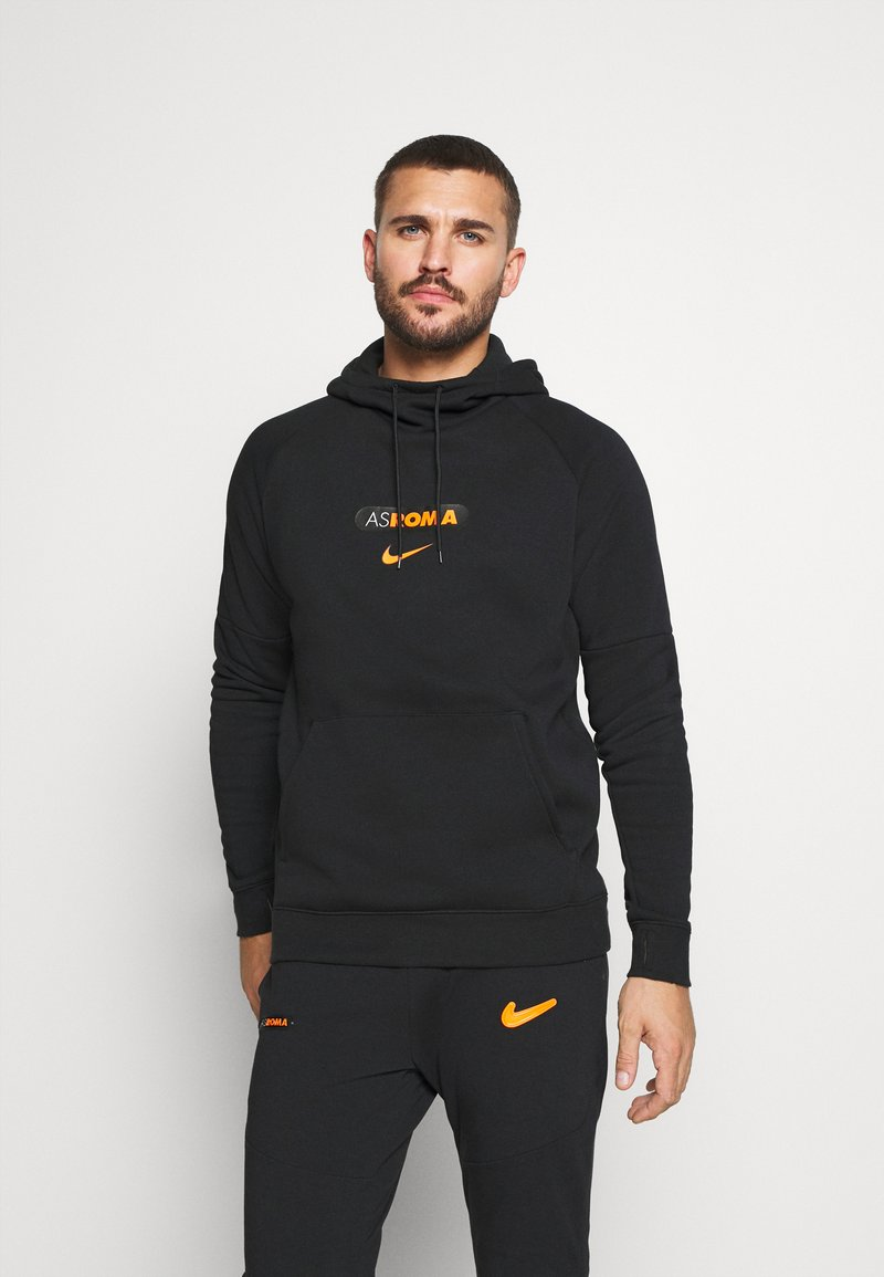 Nike Performance - AS ROM HOOD  - Article de supporter - black/safety orange