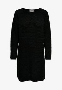 JDY - JDYTERI LS DRESS - Strikkjoler - black - 4