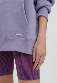 PULL&BEAR - Luvtröja - purple - 4