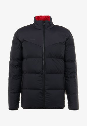 WHITEHORN - Down jacket - black/red