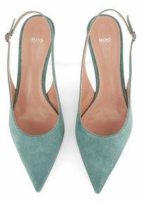 BOSS - OLIVIA SLING - Slingback ballet pumps - light green - 5