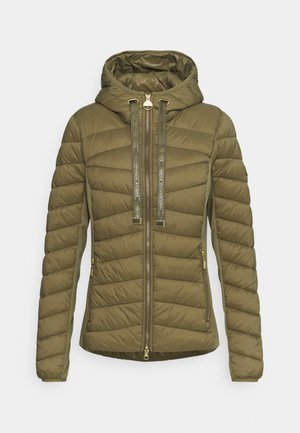 GRID QUILT - Light jacket - light army green