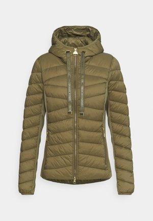 GRID QUILT - Light jacket - light army green