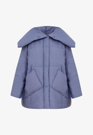 Down coat - light blue