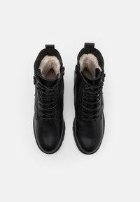 Esprit - KONSTANZ - Lace-up ankle boots - black - 5