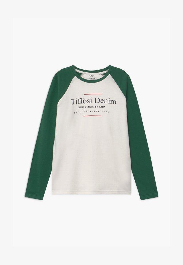 FAUSTO - Camiseta de manga larga - bege