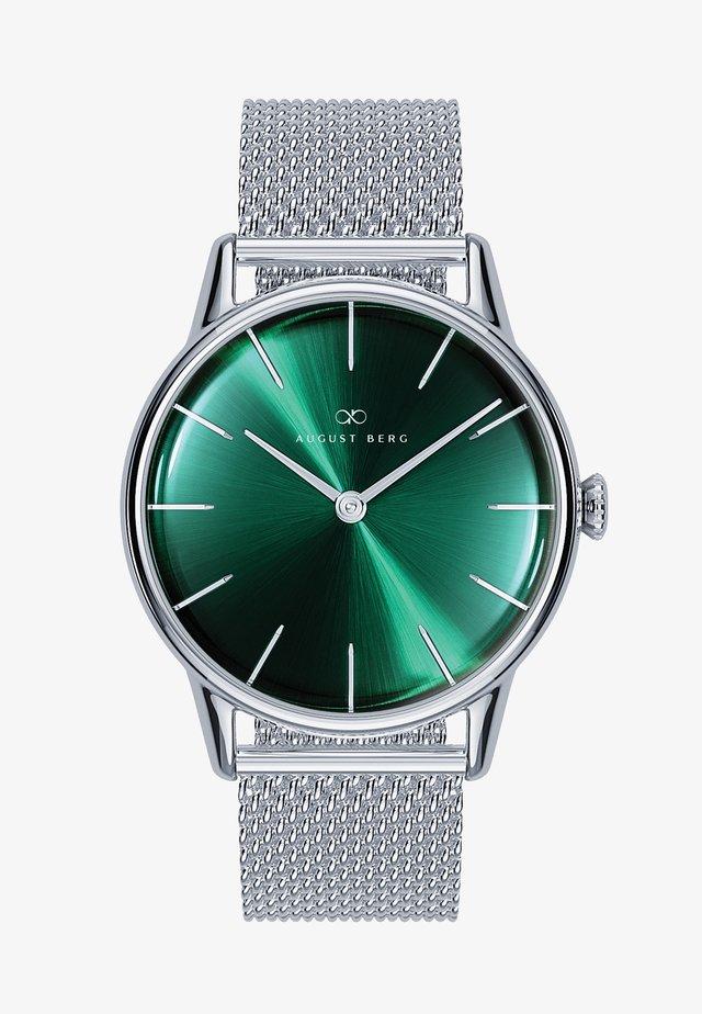 UHR SERENITY GREENHILL SILVER SILVER MESH 32MM - Watch - sunray green