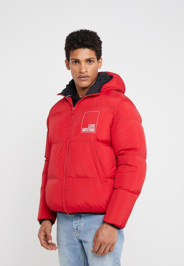 JACKET - Winter jacket - red