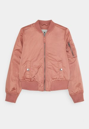 Light jacket - pink satin