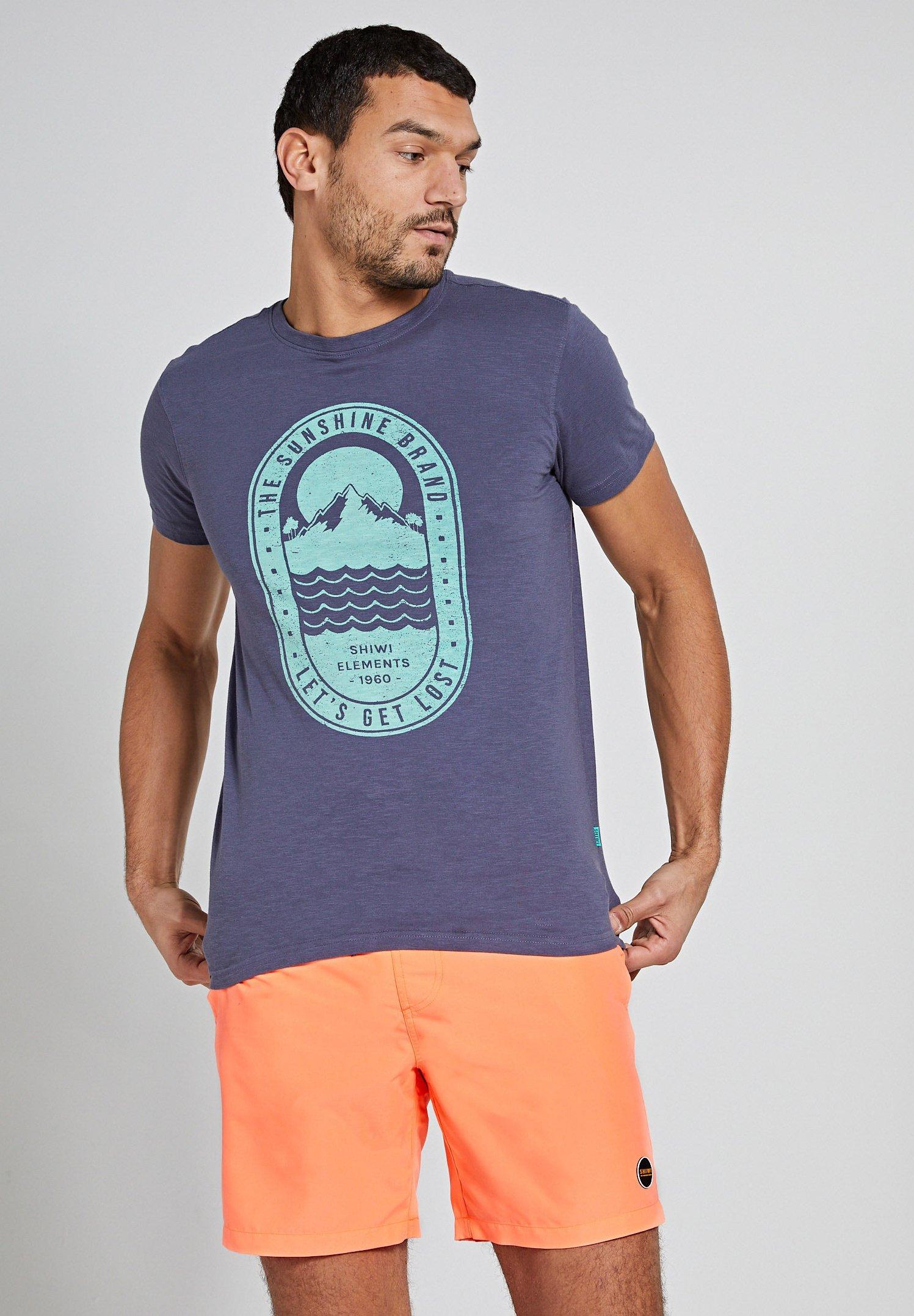 Homme TROPICS PLACED PRINT - T-shirt imprimé