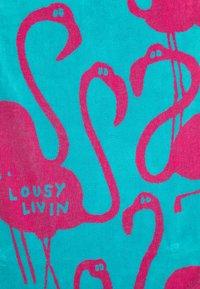 Lousy Livin Underwear - TOWEL FLAMINGO - Plavky - black/blue - 4