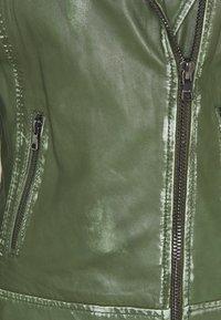 Ibana - FREYA - Skinnjakke - dark green - 2