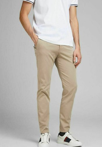 MARCO FRED AMA - Pantalones chinos - white pepper