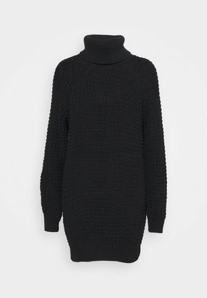 SWEATER OSLO - Jumper dress - black