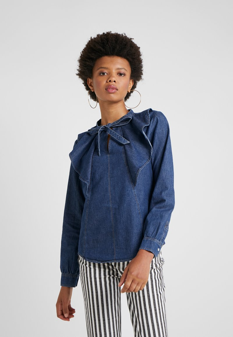 MAX&Co. - DEFILE - Blouse - midnight blue