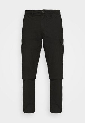 MITER PANT - Cargo trousers - black