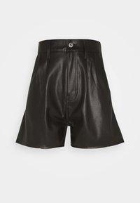 Levi's® - FAUX LEATHER - Pantalón de cuero - leather night - 0