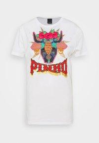 Pinko - FERDINANDO  - Print T-shirt - white - 5
