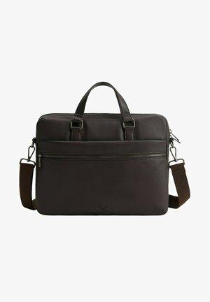 GRAIN - Briefcase - braun