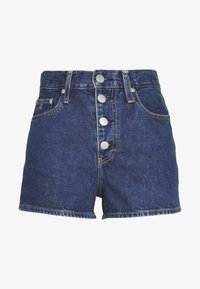 Calvin Klein Jeans - Denim shorts - dark blue stone shank - 5
