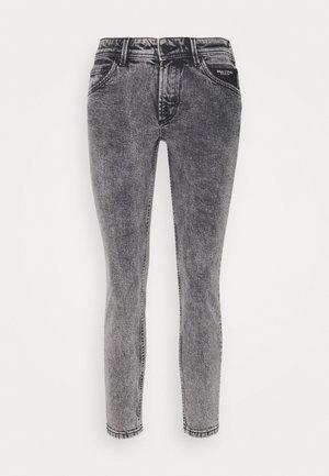 ALVA CROPPED - Jeans Skinny Fit - dark grey acid