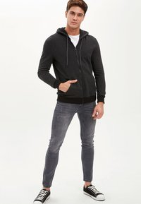 DeFacto - Cardigan - black - 1