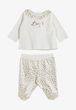2 PACK - Trousers - white