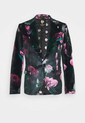 FACIONNE  - Blazer jacket - black/pink