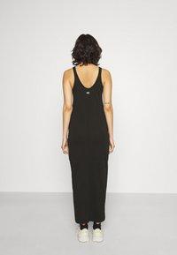 G-Star - MAXI TANK TOP DRESS - Jerseyjurk - dark black - 2