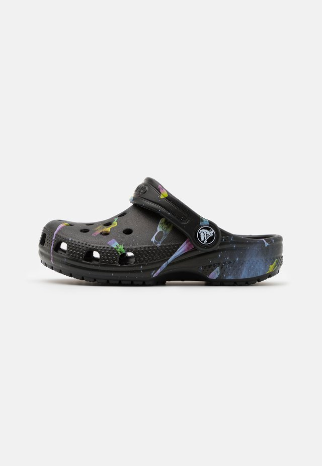 CLASSIC OUT OF THIS WORLD - Pool slides - black