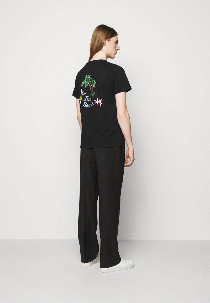 Iro - T-shirt imprimé - black