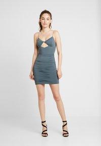 Tiger Mist - TAVI DRESS - Shift dress - steel - 1