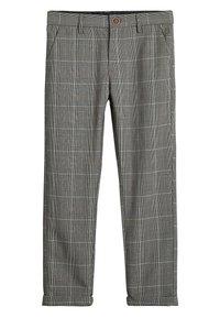 Next - GREY CHECK TROUSERS (3-16YRS) - Kalhoty - grey - 0