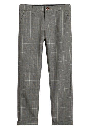 GREY CHECK TROUSERS (3-16YRS)