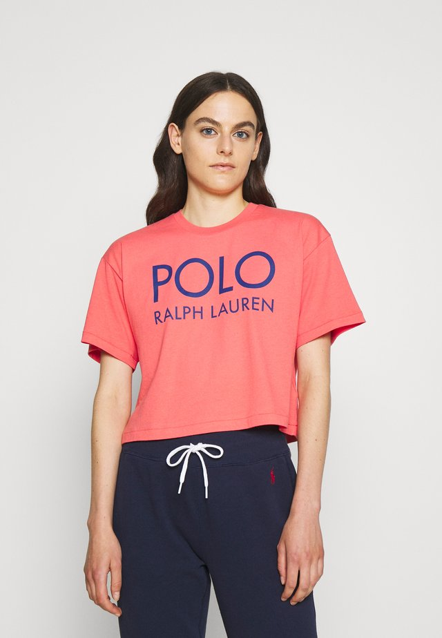 Print T-shirt - amalfi red