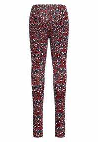 WE Fashion - MET BLOEMENPRINT - Leggings - Trousers - multi-coloured - 3