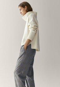 Massimo Dutti - Pantalon classique - blue - 3