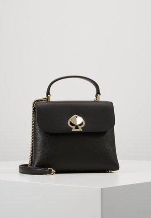 MINI TOP HANDLE - Handbag - black
