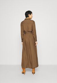 Banana Republic - SHIRTDRESS SOLID - Maxi dress - heritage olive - 2