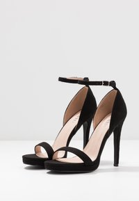 RAID - CRESSIDA - High heeled sandals - black - 4