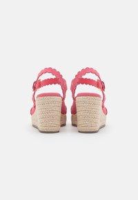 Ted Baker - SELANAS - Platform sandals - pink - 3