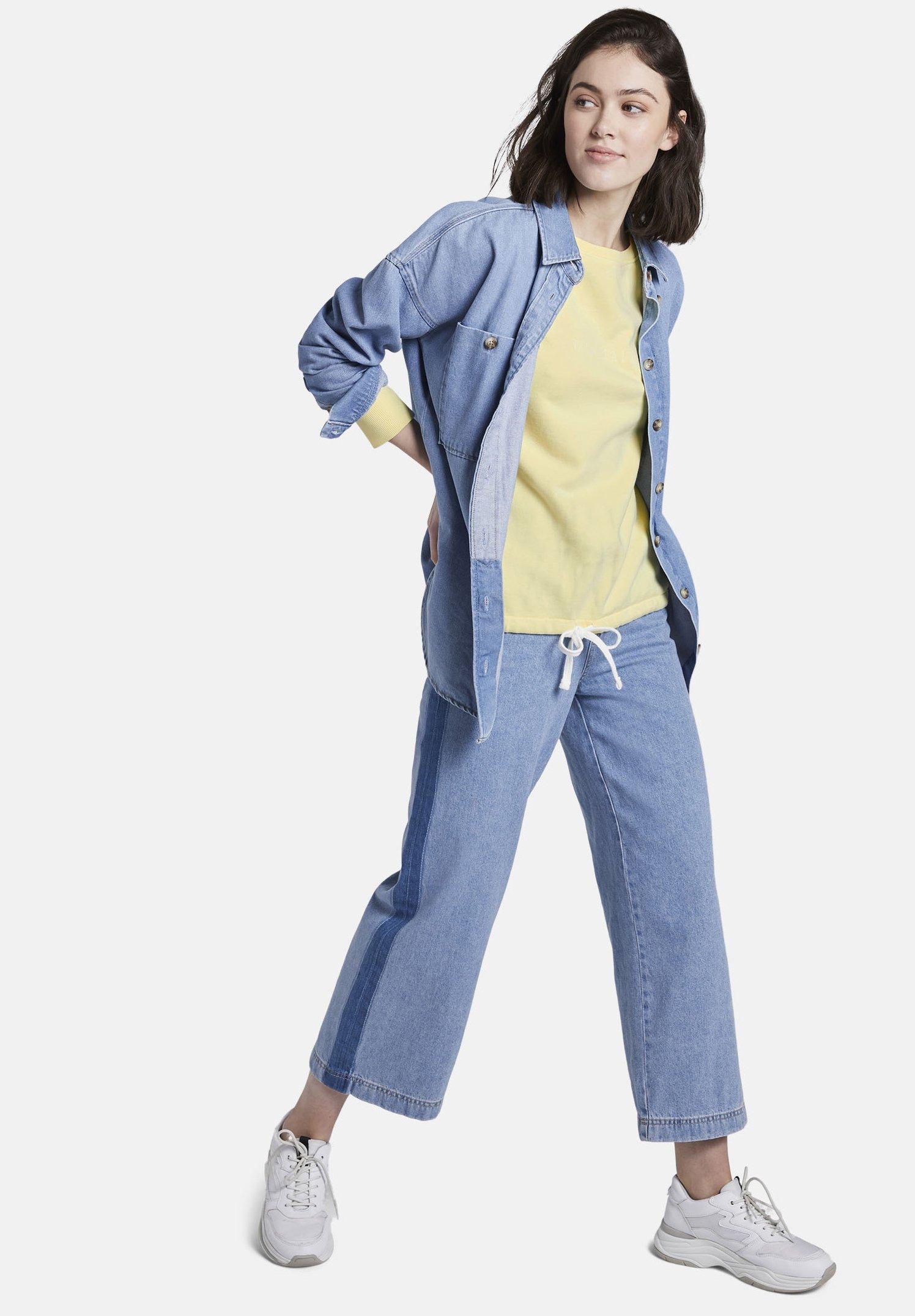 Femme MIT SCHRIFT-PRINT - Sweatshirt